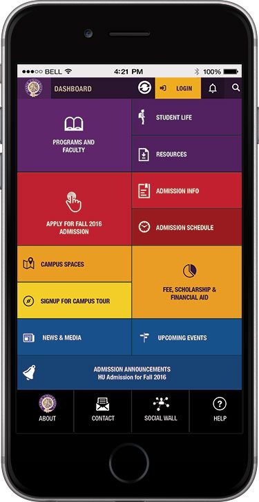 Mobile App Launched to Connect with Prospective Students and