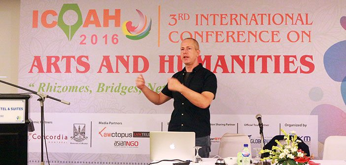 HU Faculty Shines at Intl  Conference on Arts & Humanities