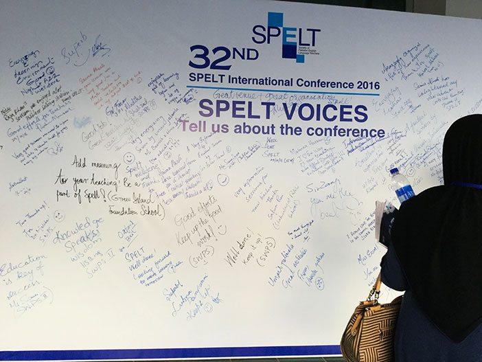 Testimonials of SPELT 2016 participating teachers.