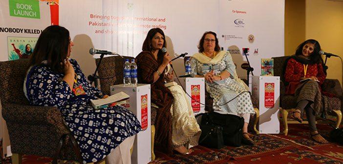 Dr. Sabyn Javeri (2nd From Left)