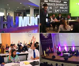 Changing the Game: Habib University's first MUN