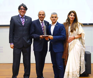 Mayor of London Sadiq Khan Meets the Habib University Community