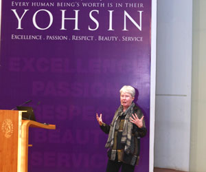 """""""Broad education allows students to become leaders in their field"""" – Dr. Maria Klawe delivers inspiring Yohsin lecture at Habib University"""