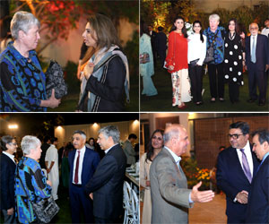 Connecting Pakistan's Leading Personalities with Eminent Global Scholar