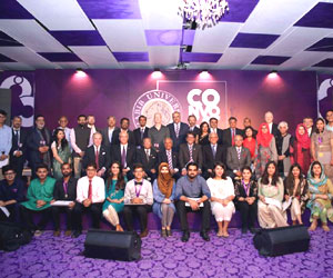 Habib University Honors its Co-Founders