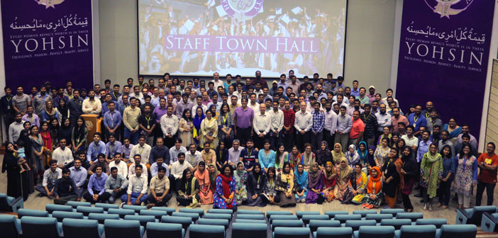 Hard work and Commitment Celebrated at Town Hall