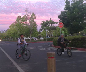 Stanford Diaries: Cycling around Campus…to Lectures with Dr. Bert