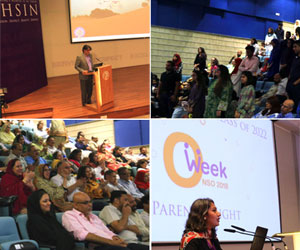 Habib University welcomes the Class of 2022 with an inspiring community evening