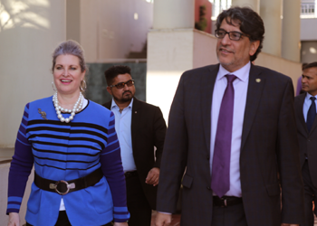 Fourth US Consul General Welcomed to Campus