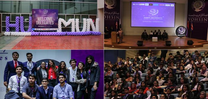Habib University Hosts 2nd HUMUN