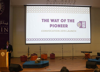 The Way of the Pioneer: Convocation 2019 Launch