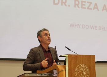 Renowned Scholar Reza Aslan Speaks at Habib University's Yohsin Lecture