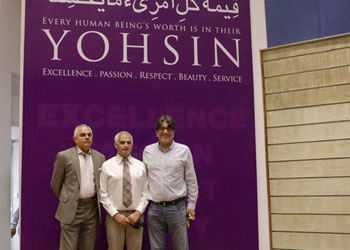 Prominent HU Supporter from Houston Dr. Asim Shah Visits Campus