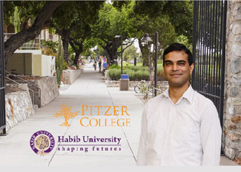 Building Global Partnerships: Dr. Waqar Saleem's Faculty Exchange Experience at Pitzer College