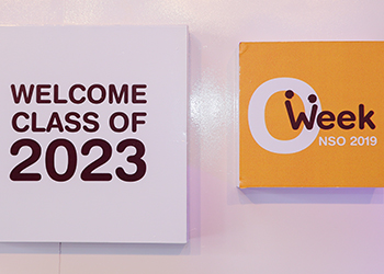 New Student Orientation 2019: Welcoming the Class of 2023