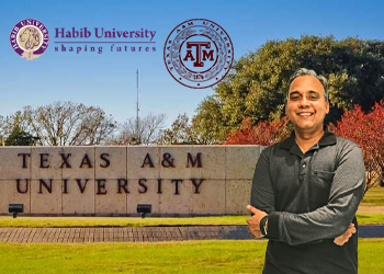 Reimagining the Freshman Learning Experience: Dr. Aamir Hasan Visits Texas A&M