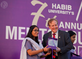 Habib University Holds 7th Annual Meritorious Awards