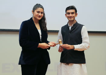 HUSG Gavel Ceremony: New Student Government Takes Over Leadership