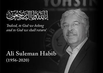 President Wasif Rizvi's Tribute to Mr. Ali Suleman Habib