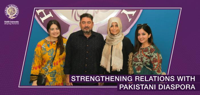 Strengthening Relations with Pakistani Diaspora