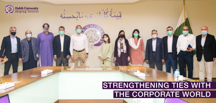 Strengthening Ties with the Corporate World