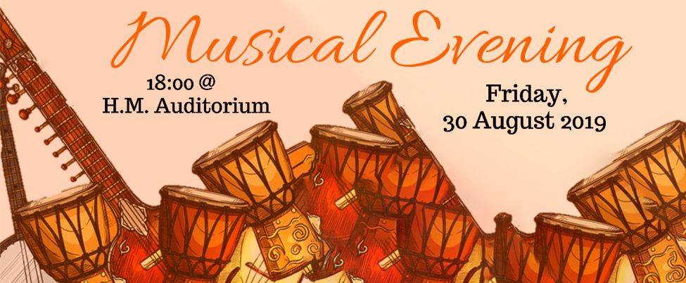 Week of Welcome: Musical Evening