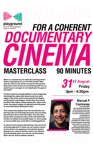 Master Class on Documentary Film