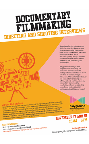 Documentary Filmmaking – Directing and Shooting Interviews