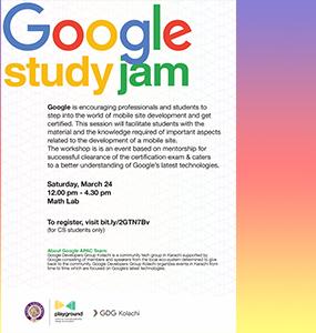 Google Study Jam