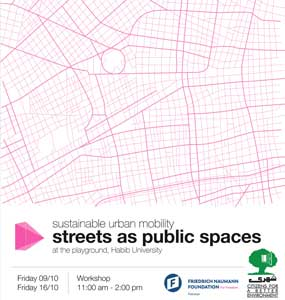 Sustainable Urban Mobility: Streets as Public Spaces