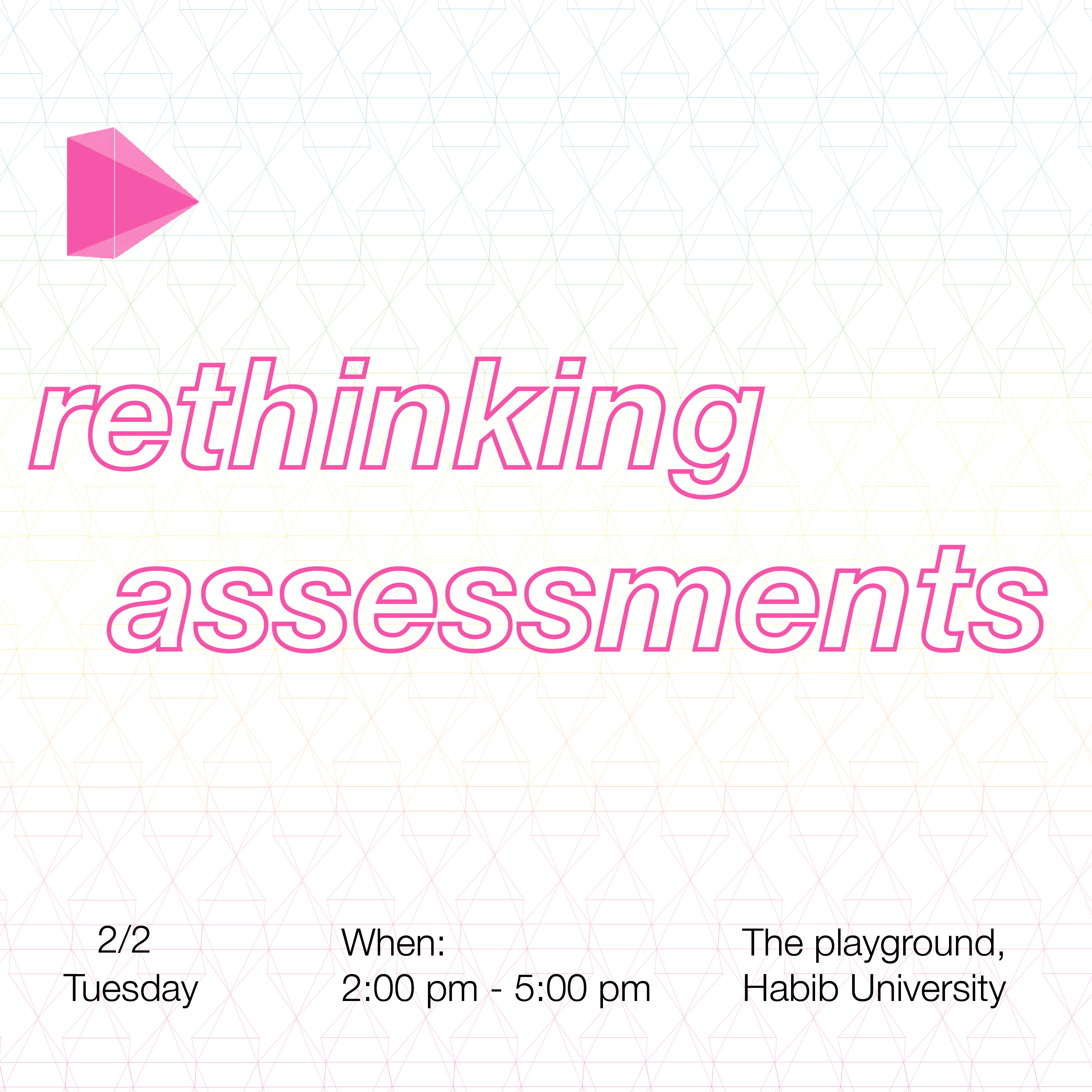 A Design Thinking Workshop on Rethinking Assessments