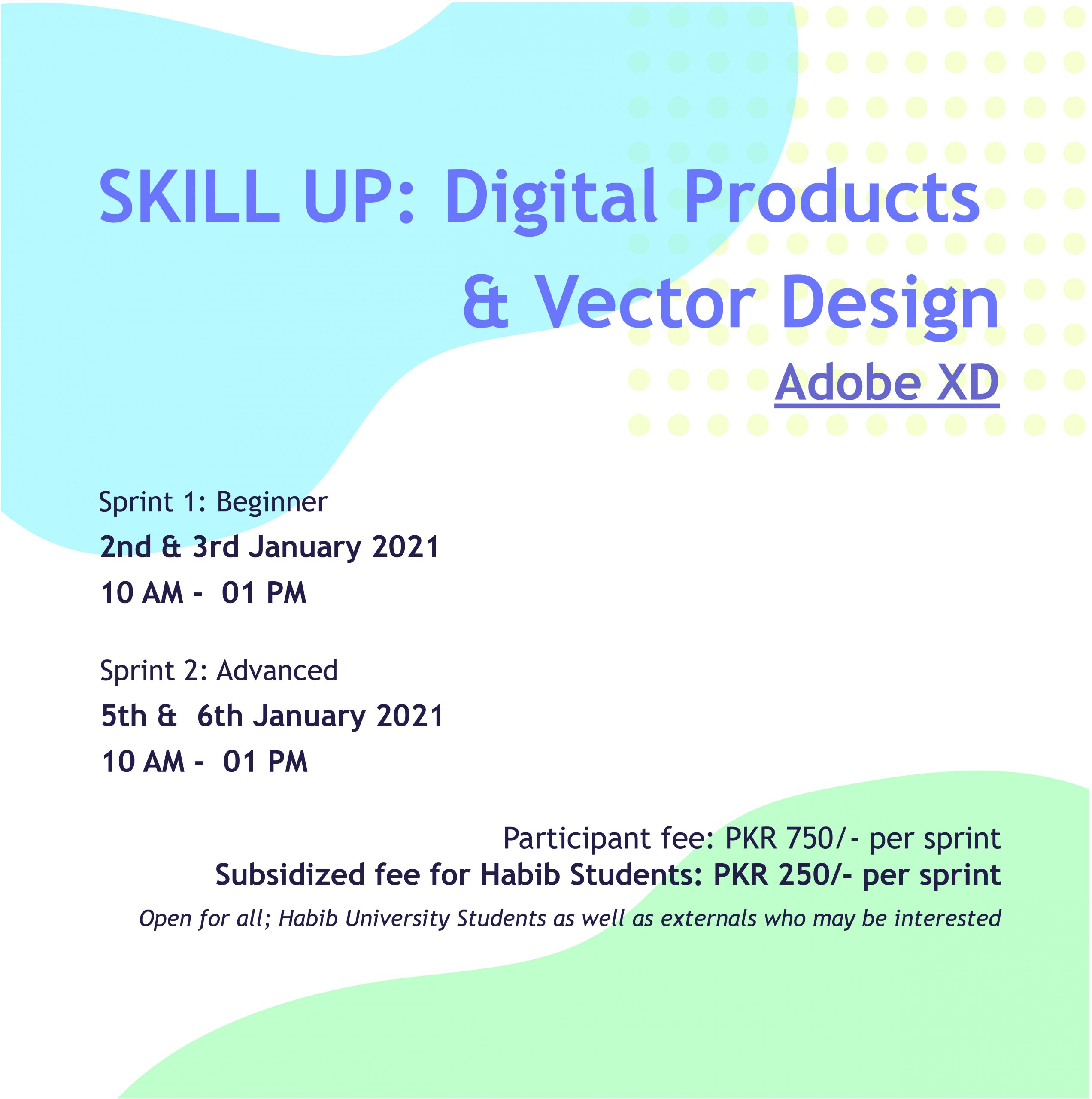 Skill Up: Introduction to Digital Products & Vector Design – Adobe XD