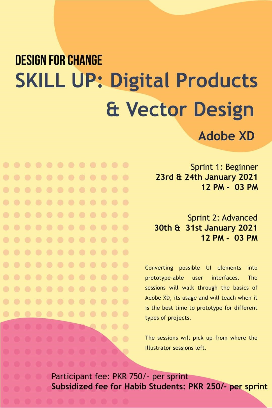 Skill Up: Introduction to Digital Products & Vector Design – Advanced Level Adobe XD
