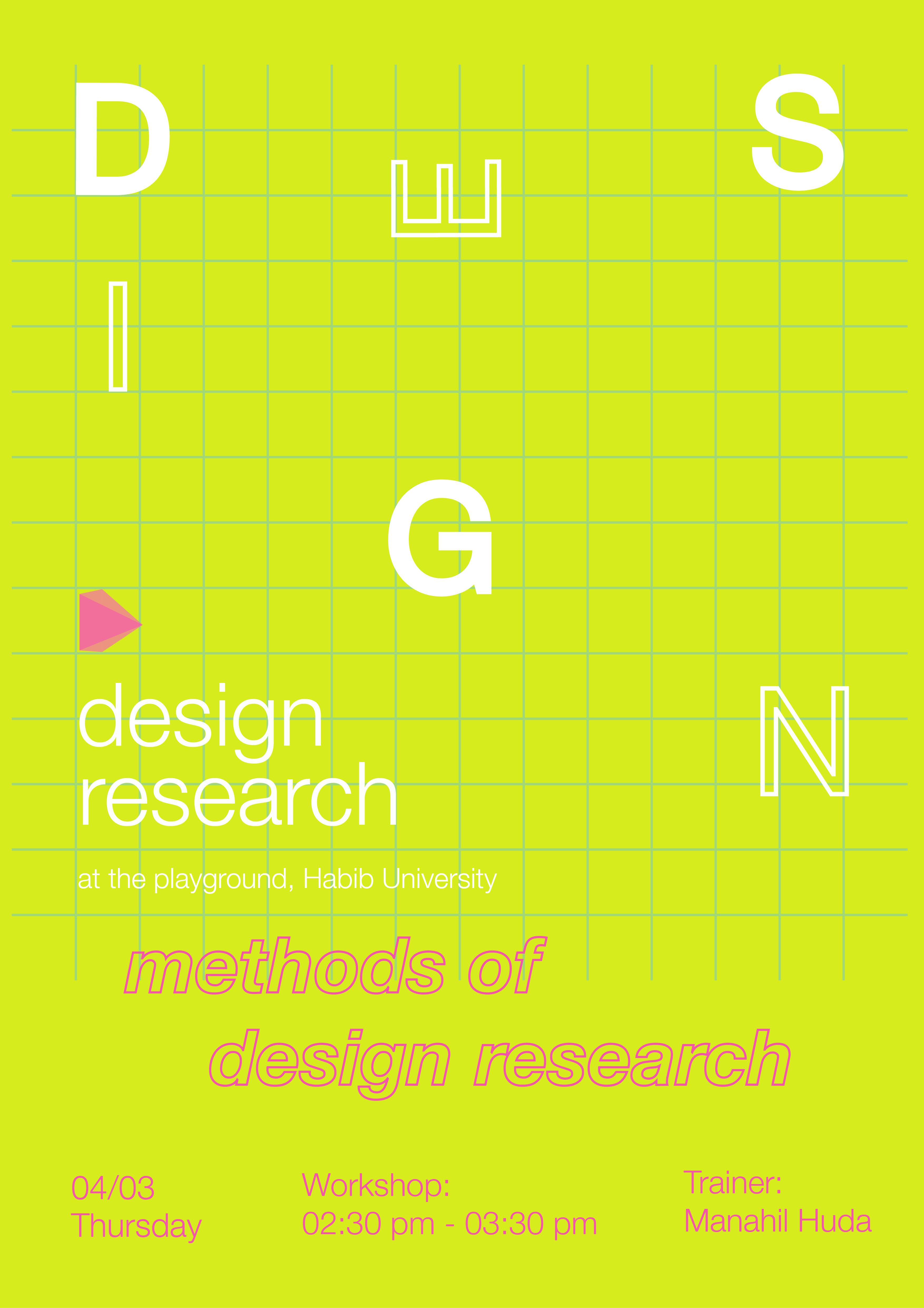 Workshop on Design Research Methods