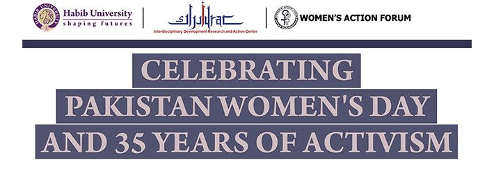 Celebrating Pakistan Women's Day and 35 Years of Activism