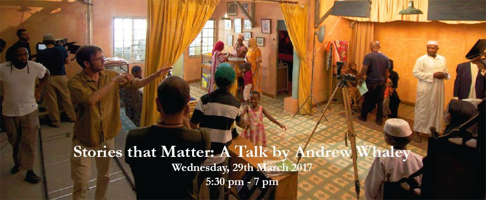 Stories that Matter: A Talk by Andrew Whaley