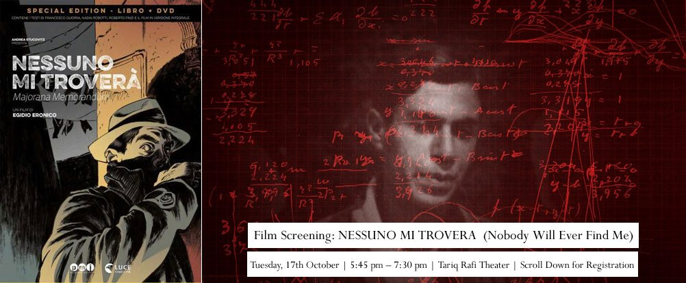Documentary Screening: Nessuno Mi Troverà (Nobody Will Ever Find Me)