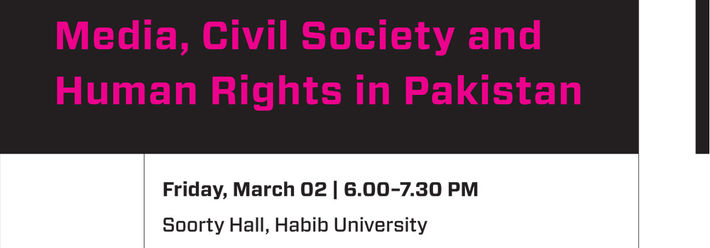 Media, Civil Society and Human Rights in Pakistan