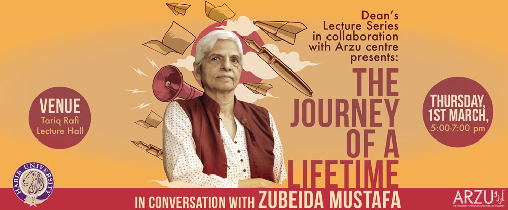 The Journey of a Lifetime: In Conversation with Zubeida Mustafa