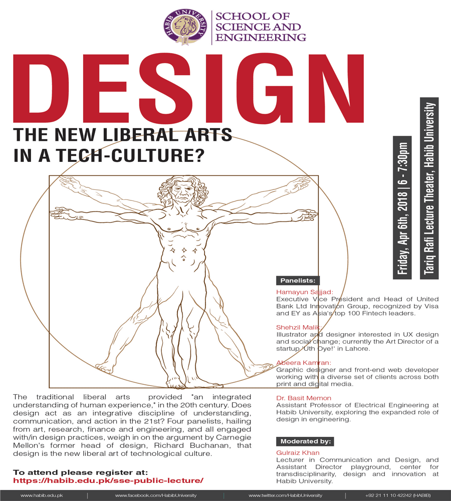 Design: The New Liberal Arts in a Tech-Culture?