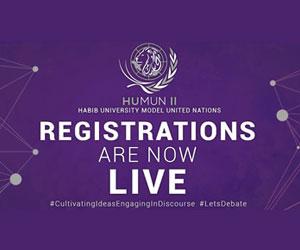 HUMUN II: Habib University Model United Nations